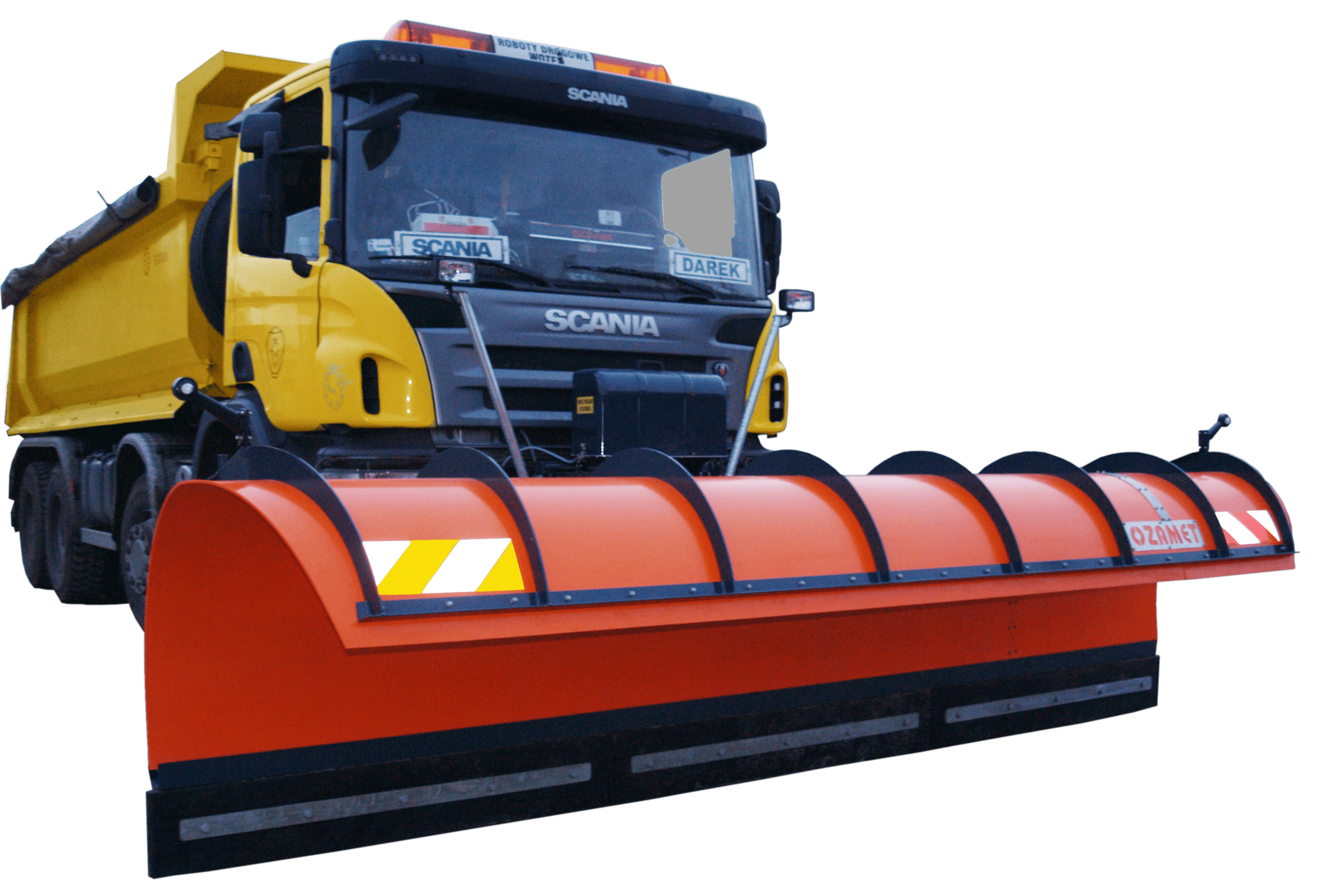 Snow plough OZ-WMA