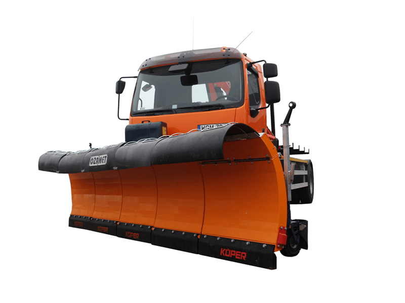 Snow plough OZ-A/S 45 with fold extention