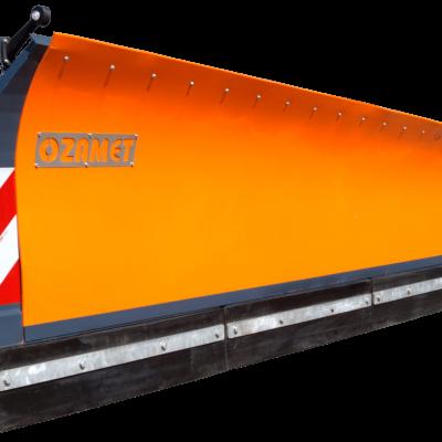 Ozamet side-mounted snow plough
