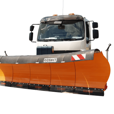 Ozamet motorway snow plow