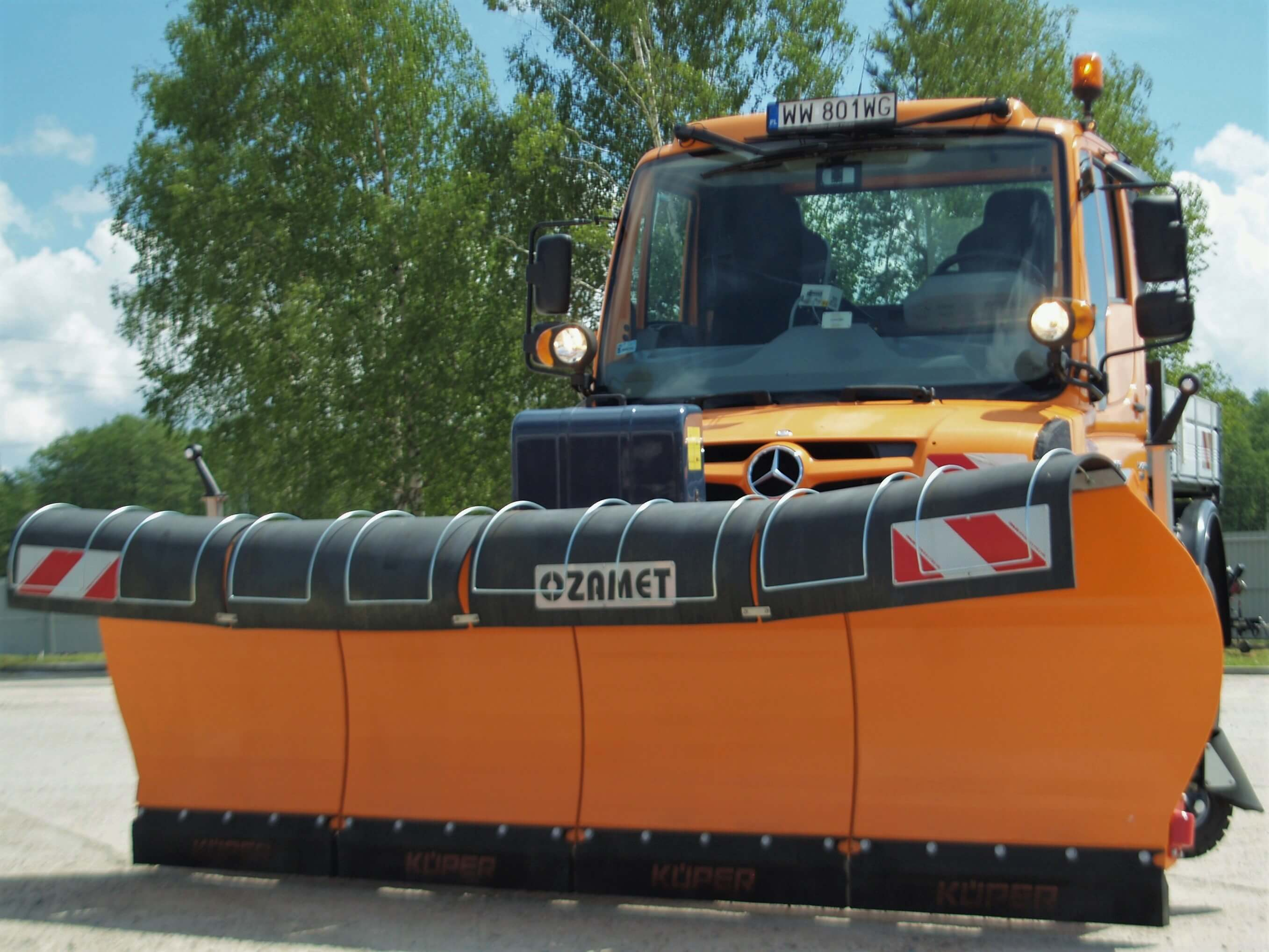 Ozamet snow plow