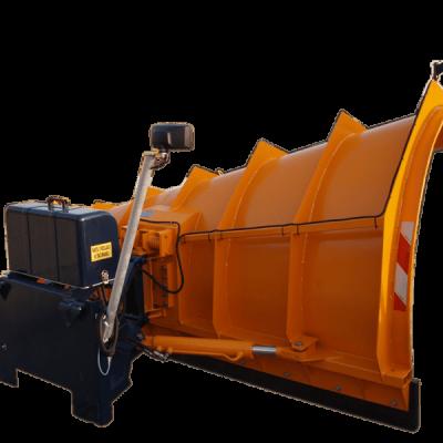 Ozamet tube snow plough