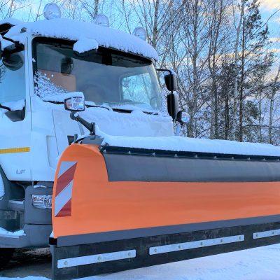 Pług śnieżny Ozamet